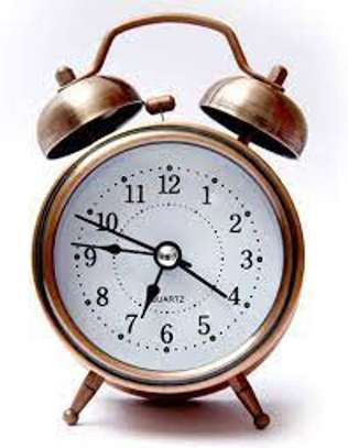 Twin Bell Alarm Clock image 1