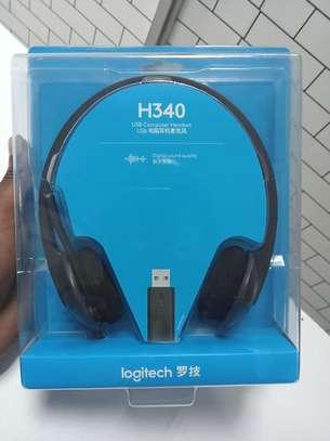 Logitech H340 Headphones image 1