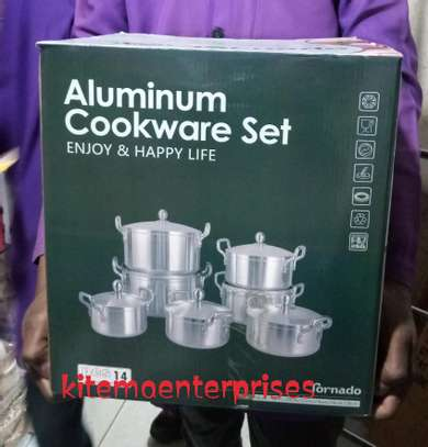 Cook ware set(stainless steel)3.5 image 2