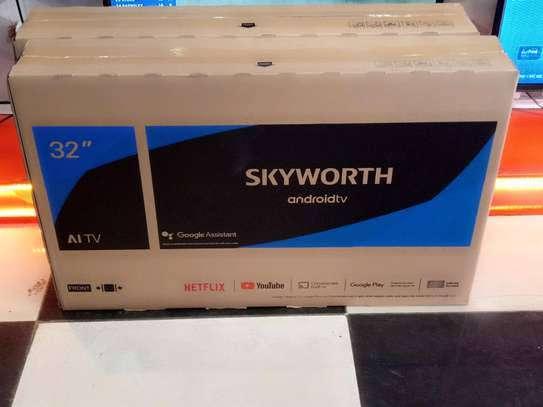 32 skyworth smart Android frameless HD TV image 1