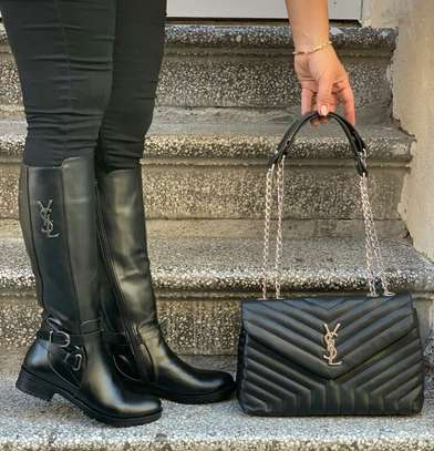 LV BAGS AND THIGH BOOTS image 2