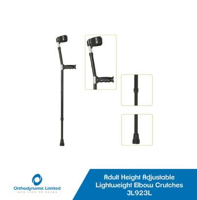 Height Adjustable Lightweight Crutch For Children (Elbow crutches a pair) image 1