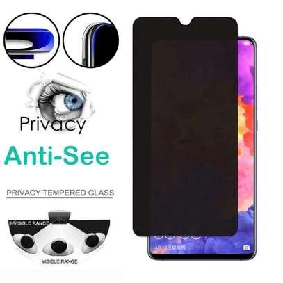 5D Privacy Anti-Spy Anti-Peep Full Glue Tempered Glass For Samsung A70 A60 A50/A50s A40 A30/A30s A20 A10 image 2