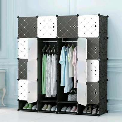 Executive Portable 3 Column High Density Plastic Wardrobes image 5