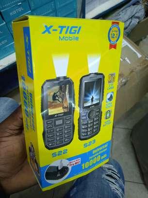 Xtigi S23 New 10000mAh battery- Dual Sim with Torch(Powerbank mode) image 1