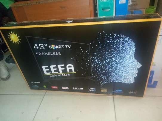 """eefa 43"""" smart android frameless tv"""