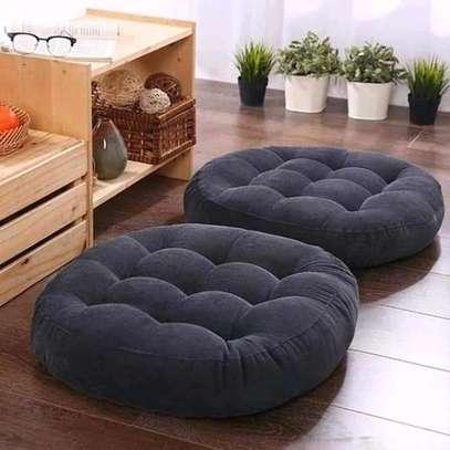 Round floor pillow image 2