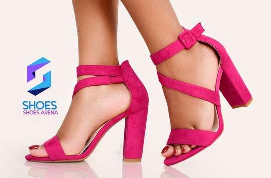 Classy chunky heels image 3