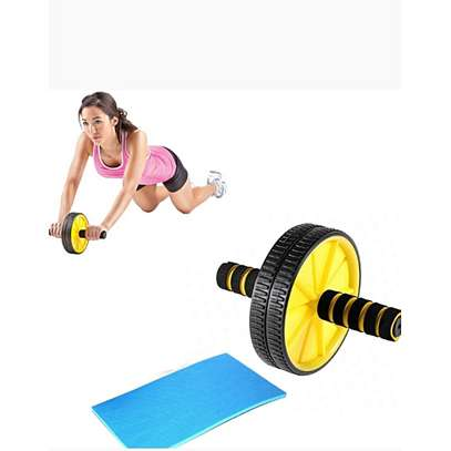 ABS Wheel Abdominal Roller Workout Exercise Arm And Waist Fitness Exerciser