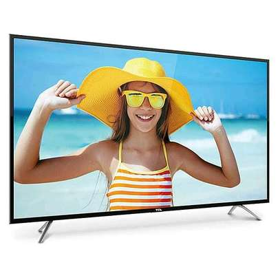 TCL 55 inches Smart Android Tv 4k with GOOGLE CHROME CAST -55P617 image 1