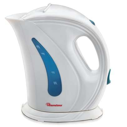 RAMTONS CORDLESS ELECTRIC KETTLE 1.7 LITERS WHITE AND BLUE- RM/225 image 1