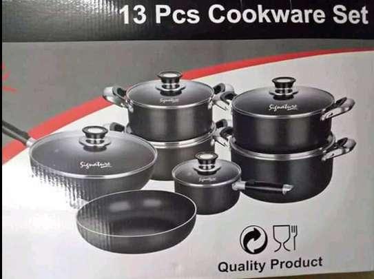 13 Piece Non Stick signature cookware image 1