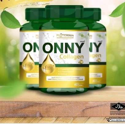 ONNY Collagen Collagen Tri-peptide  L-Glutathione Taurine 60 Capsules - By Ammiel Collection image 1