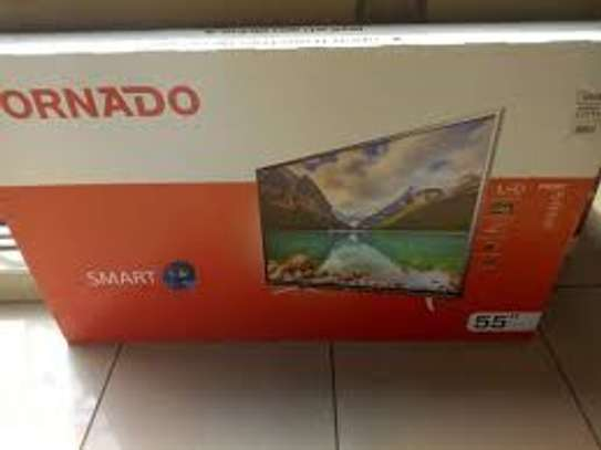 tornado 55 inch smart led tv image 1