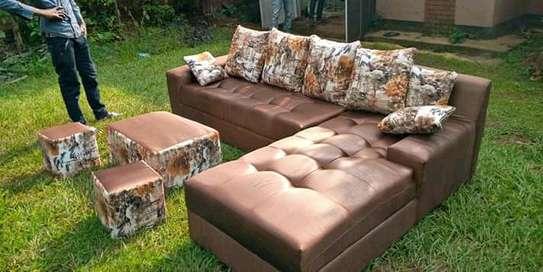 Stylish Modern Quality 6 Seater Corner Sofa image 1