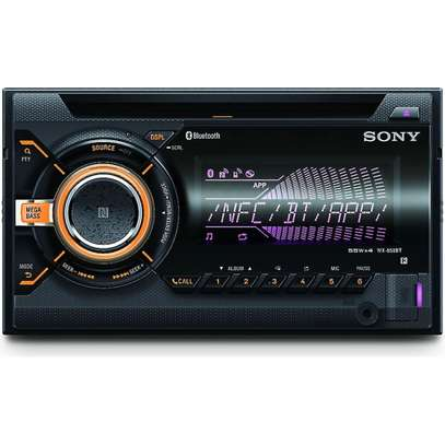SONY WX-900BT 2-DIN CD RECEIVER WITH BLUETOOTH image 1