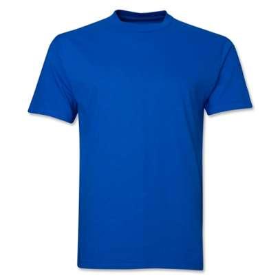 plain round neck  t shirts image 2