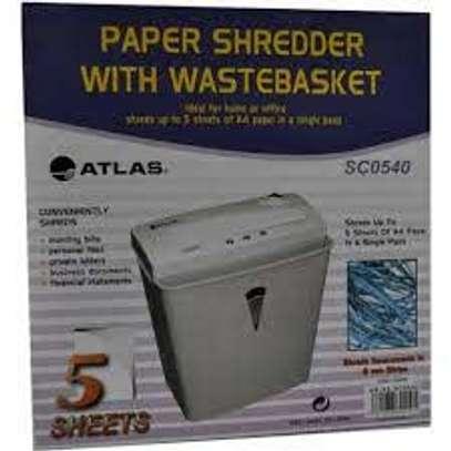 Atlas paper shredder SC0540 (5 sheets)