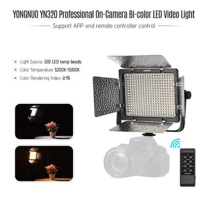 YONGNUO YN320 Professional On-Camera Bi-Color image 2