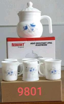 7pcs Tea Mug with a Jug image 1
