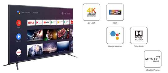 65 inches TCL Smart LED TV Android 4k With HDR - 65P8M