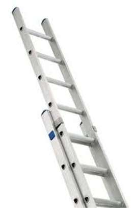 2 section aluminum ladder 20ft for hire