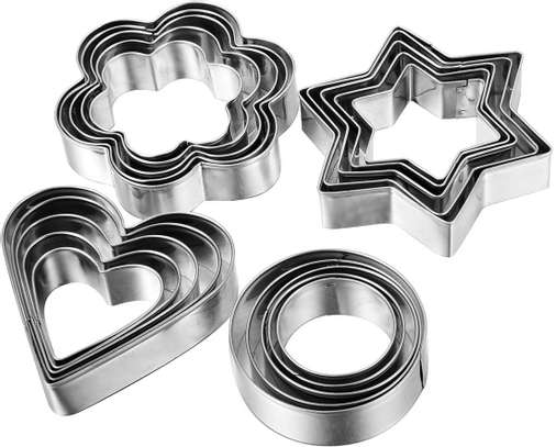 12pcs cookies cutter image 1