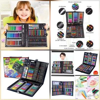 150 pcs kids art set (everything assorted ) image 1
