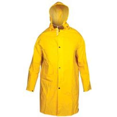 PVC raincoat with lining image 1