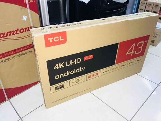 43 inches Tcl smart android tv