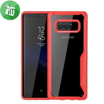 IPAKY Hybrid Shockproof Transparent Case for Samsung Note 8 image 5