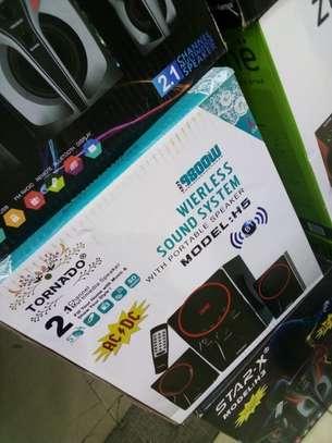 tornado 2.1ch model;H5 wireless speaker system image 1