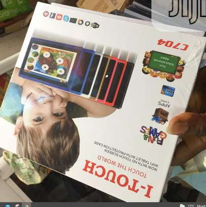 New I-TOUCH KIDS TABLET (C 704) WITHOUT SIMCARD SLOT. image 1