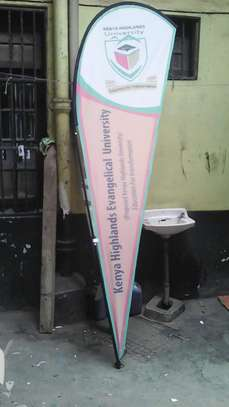 Rollup Banners and Teardrop Banners image 9