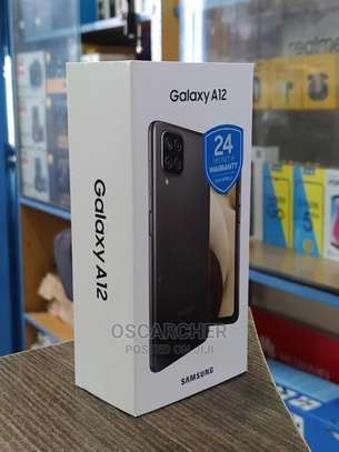 Samsung Galaxy A12 - 6.5″ - 128GB + 4GB RAM - Dual SIM-NEW image 1