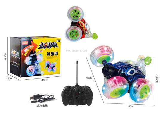 360 degrees rechargable remote toy car image 1