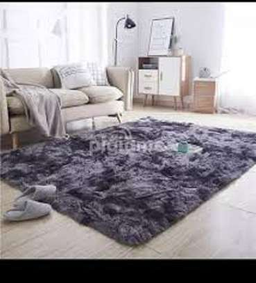 patched fluffy carpets image 1