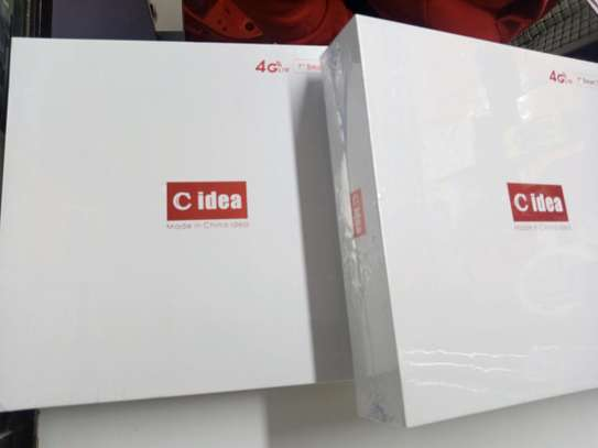 C Idea Tab CM 488 2GB+16GB, 4G LTE, 7 Inch, Dual SIM , Black image 2