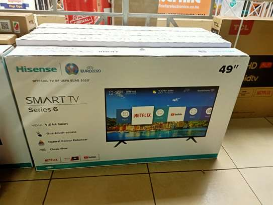 "hisense 49""smart digital tv image 1"