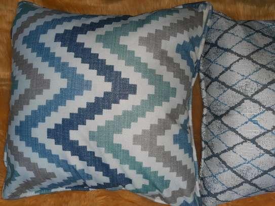BLUE THEME THROWPILLOWS image 2