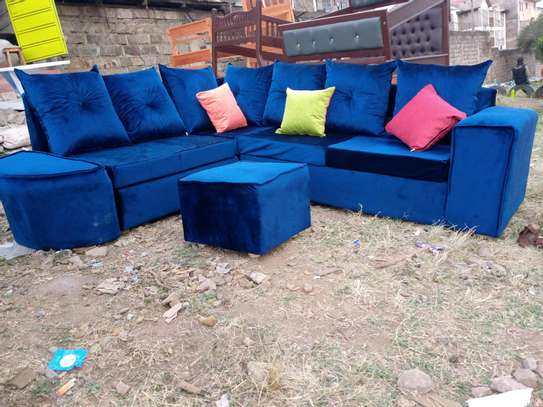 6seater L-shape sofa image 1
