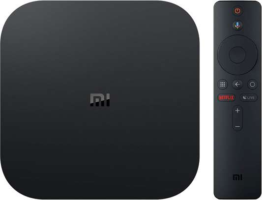 Xiaomi Mi Box S Android TV with Google Assistant Remote Streaming Media Player - Chromecast Built-in - 4K HDR - Wi-Fi - 8 GB - Black image 6