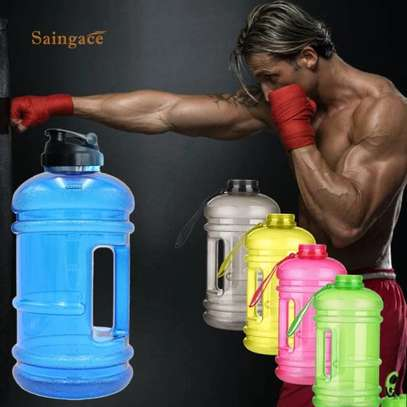 2.2L water bottle sports cup camping gym image 1