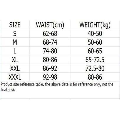 High Waist Trainer BodyShaper Sliming Belly Belt-Black image 2