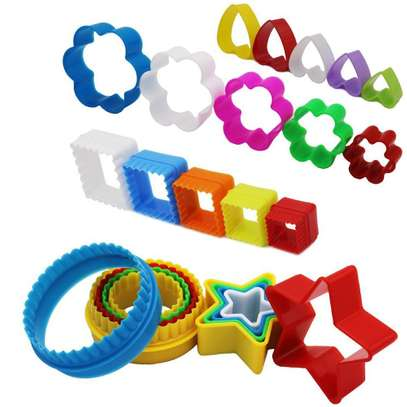 Plastic Dough Cookie Cutter, Assorted - 1 Set image 2
