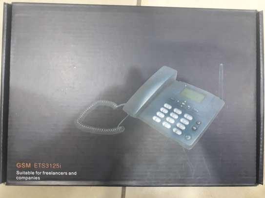 GSM Landline Desk Phone image 2