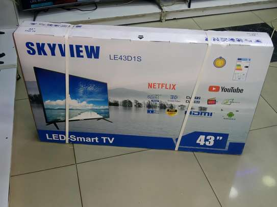 Skyview 43 Inch Android Smart Full HD 1080P TV With YouTube Netflix WiFi Brand New image 1