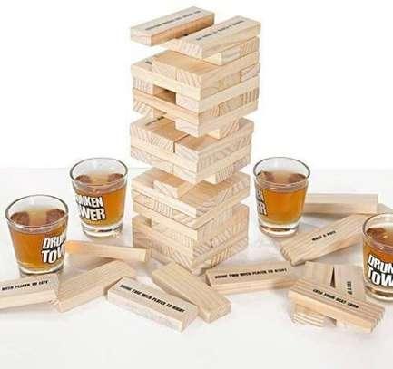 Adult Jenga Drunken Tower Drinking Games image 5