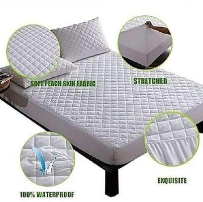 Bed mattress protector image 1