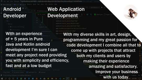 Android & Web Application Development image 1